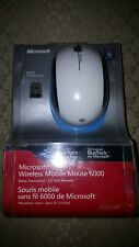 Microsoft Wireless Mobile Mouse 6000 for Windows & Mac USB NEW FACTORY SEALED