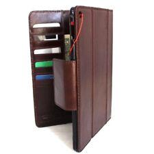 Genuine Natural Leather case for apple iPad Air 2 Credit Card slots Slim brown R