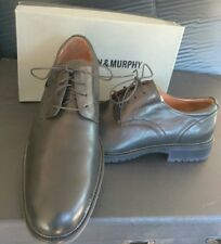 Johnston Murphy 10 Black Dress Shoes Kenardplain 20-9465 New Oxfords memory foam