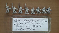 15mm Roundway  Miniatures  Dismounted Knights