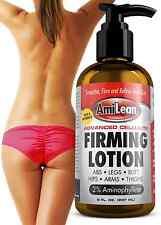 AmiLean Advanced Cellulite Slimming Fat Burning Lotion 8 fl oz LOSE INCHES