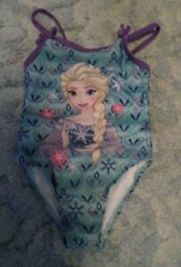 DISNEY SIZE 3T FROZEN ELSA ONE PIECE BATHING SUIT