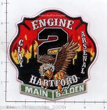 Connecticut - Hartford Engine 2 CT Fire Dept Patch v1 Clay Arsenal