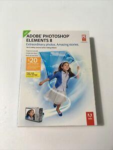 Adobe Photoshop Elements 8 - New SEALED