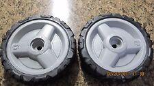 Set of 2 Husqvarna OEM Lawn Mower Drive Wheels 580365301 fits AWD mower and more