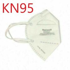 KN95 Respirator Face Mask Raxwell RX9501 Approved & Whitelisted BFE 99%