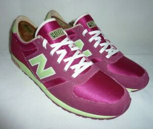 Womens New Balances 420 Pink Green Sneakers Running Shoes UK 6 US 7.5 Trainers
