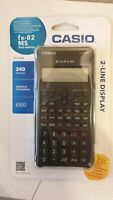 New in Package Casio FX-82 MS calculator 2 line display 2nd edition