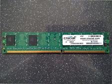 CRUCIAL MICRON PC3200 400MHZ 512MB DDR DIMM 184PIN MEMORY STICK CT6464Z40B.M8FD