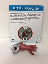 Marvel HeroClix Left Arm Hulkbuster A005 Figure w/ Card C03