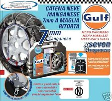 Catene Da Neve GULF 7mm Gr.70 Suzuki Swift (2011) Pneumatici 185/55R16