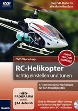 RC-Helikopter richtig einstellen und tunen DVD mit 60 Min. Laufzeit NEU!