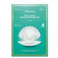 JMsolution Water Marine Luminous Pearl Deep Moisture 3 Step Mask 10ea