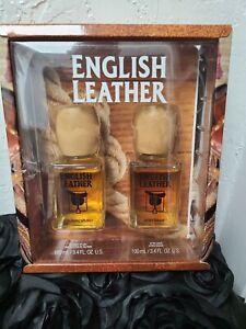 VINTAGE ENGLISH LEATHER 3.4 oz. GIFT SET COLOGNE & AFTER SHAVE NIB, Dana