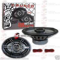 "CRUNCH CS693 6 x 9-INCH 6"" x 9"" 3-WAY CAR AUDIO COAXIAL SPEAKERS (PAIR)"