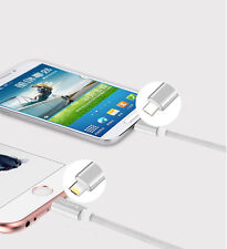 Combo Lightning Micro USB Cable works with iPhone Android No Need For Adapters