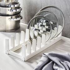 TOPFDECKELHALTER Ständer Kunststoffdeckelhalter Verlängerungsstück TESCOMA FLEXI