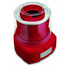 Cuisinart ICE-21R 1-1/2-Quart Automatic Frozen Yogurt Ice Cream&Sorbet Maker Red