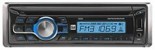 Dual XD250 In-Dash CD/CD-RW Car Stereo Receiver w Front Panel USB Charging Port