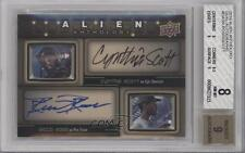 2016 Upper Deck Alien Anthology #DA-SR Ricco Ross Cynthia Scott BGS 8 Auto b9t