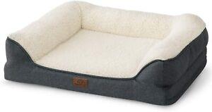 Orthopedic Dog Beds Extra Large Memory Foam Couch Dog Sofa Removable Washable UK