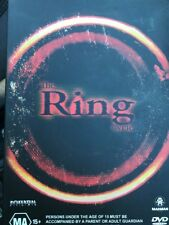 Ring Trilogy (DVD, 2003, 3-Disc Set) Very Good Condition - Free Post!