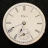 Vintage 1897 Elgin Grade 109 Pocket Watch Movement Runs Ticks 0s 7j USA