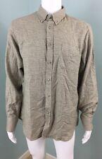 NWT Mens Ben Sherman L/S The Vintage Flannel Button Down Shirt Sz XL Extra Large