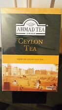 2x Ahmad Tea London Ceylon Tea 500g Loose Leaf.