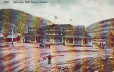 Postcard Natatorium Idaho Springs Co