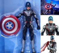 "Marvel Legends Avengers Endgame 6"" Captain America Figure Loose Thanos BAF"