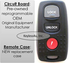 04 2004 Mazda MPV KPU41846 41846 keyless remote control clicker transmitter FOB