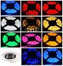 Bright 12V 5M 16.4ft 3528 RGB White SMD 300 LEDs Flexible Strip light Lamp US