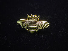 """JJ"" Jonette Jewelry Gold Pewter 'Full-Winged Bee' Tac Pin"