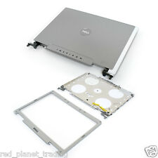 New Dell Inspiron 6400 E1505 Top Cover Lid Hinges Antenna Bezel UF165 NF882
