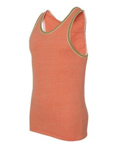 Alternative Apparel - Men's Keeper S-2XL Vintage Jersey Ringer Tank Top T-Shirt