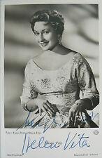Helen Vita (1928-2001) orig-signiertes Foto - frühes Motiv