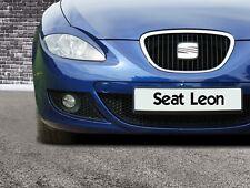 """Seat Leon 1P1 """" Böser-Blick """" BREITE  Scheinwerferblenden Set"""