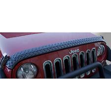 11651.17 RUGGED RIDGE Body Armor Hood Guard, 07-12 Jeep JK Wranglers, by Rugged