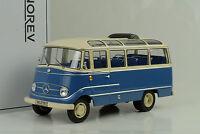 1960 Mercedes-Benz O319 Bus Bleu Bleu Crème 1:18 Norev