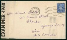 Mayfairstamps Great Britain 1943 Brighton and Hove Censored King George VI Cover