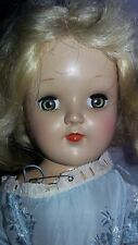 Rare Vintage 1950S Ideal Toni Doll Marked P91 Alice In Wonderland Outfit?