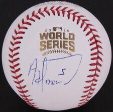 Albert Almora Signed 2016 World Series Baseball (JSA COA)
