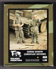 VERLINDEN 868 - GERMAN INFANTRY (CAMOUFLAGE UNIFORMS) - 1/35 RESIN KIT