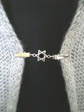 Shawl Clips/Clasps, Star Cardigan, Sweater, Blouse,