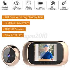 2.8'' Visual Doorbell Peephole LCD Viewer Door Eye IR Video Camera Night Vision