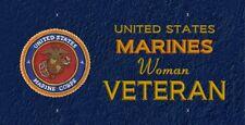 Marine Woman Veteran  LP 476