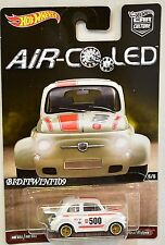 HOT WHEELS 2017 CAR CULTURE AIR COOLED 60'S FIAT 500D MODIFICADO #5/5