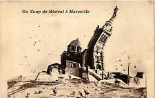 CPA Un coup de mistral a MARSEILLE (403637)