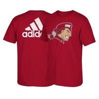 "Sacred Heart Pioneers NCAA Adidas ""Franchise"" Big Team Logo Red T-Shirt"